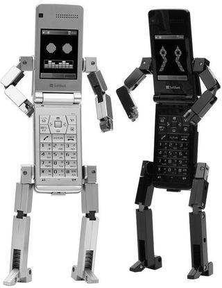 Robot-cell-phone