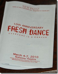 Fresh Dance Program