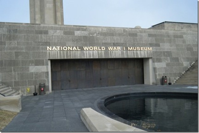 The World War One Museum is located in Kansas City, MO. Did you know that there is no national monument to World War I, and that the reason for that lack is bureaucratic bickering? As of today, we have exactly one living veteran of World War I in the US. Frank Buckles is 109 years old, and still lobbying for a national memorial.