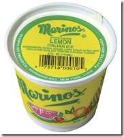 marino's lemon ice