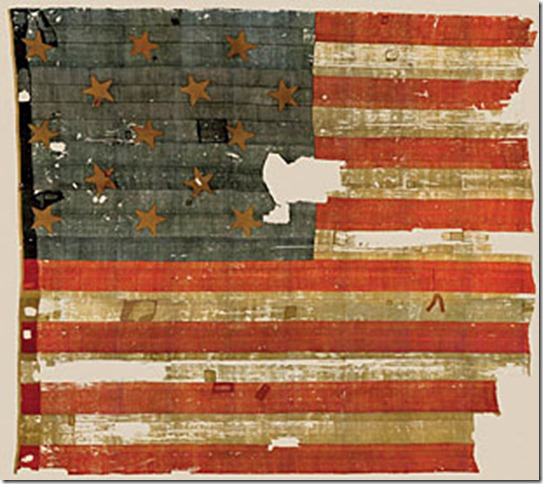 The original Star-Spangled Banner pre-restoration) that flew over Fort McHenry on September 14, 1814 and inspired Francis Scott Key to write what is now our National Anthem. The War of 1812 is the only war on American soil that involved Baltimore to any important extent, and the Battle of Baltimore is considered to be the turning point in the war. Go visit the Fort and be fascinated.
