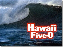 """Big Wave! This shot was also used as the """"bumper"""" from the show into the commercials."""