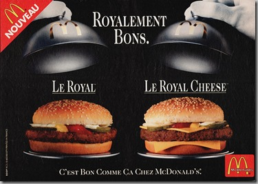 Not Pictured: Le Big Mac